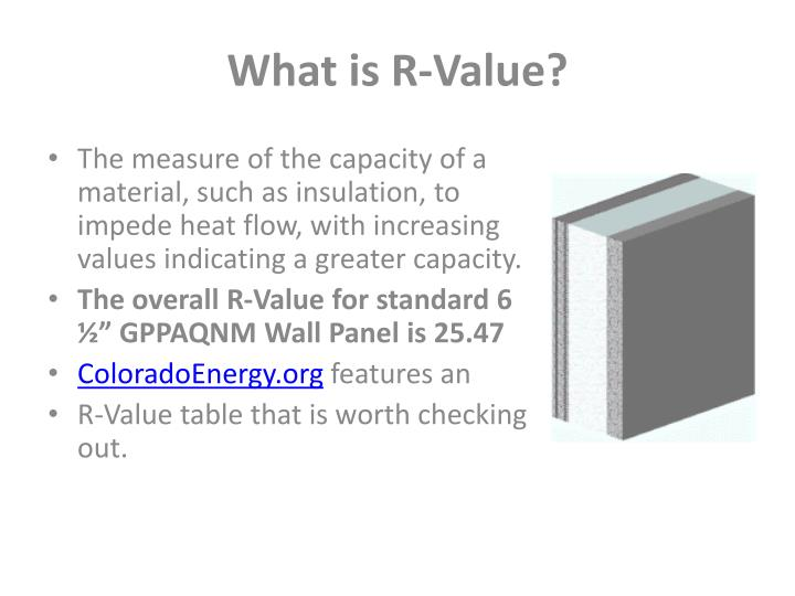 What is R-Value?