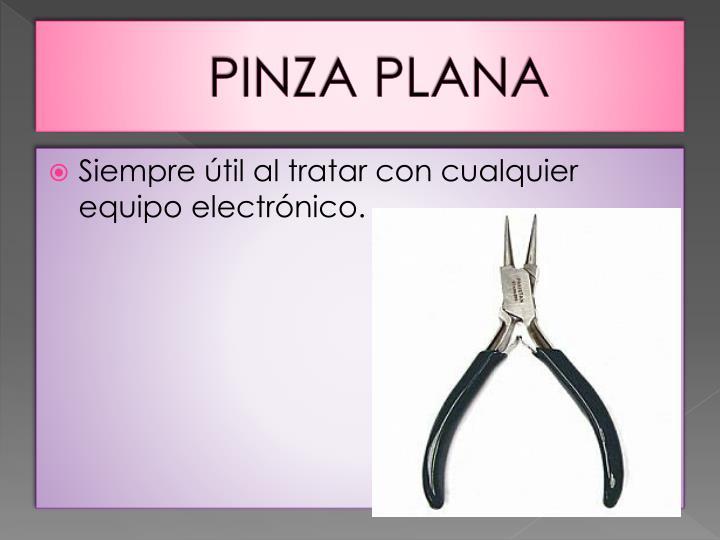 PINZA PLANA