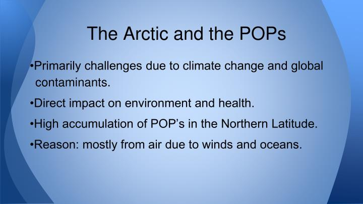 The Arctic and the POPs