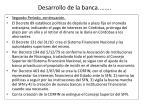 desarrollo de la banca