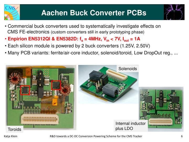 Aachen Buck Converter PCBs