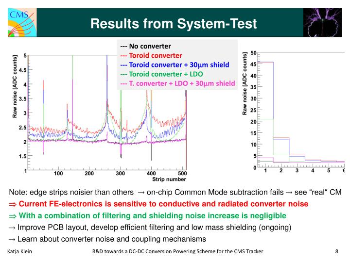 Results from System-Test