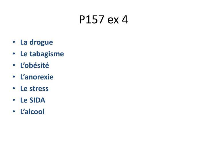 P157 ex 4