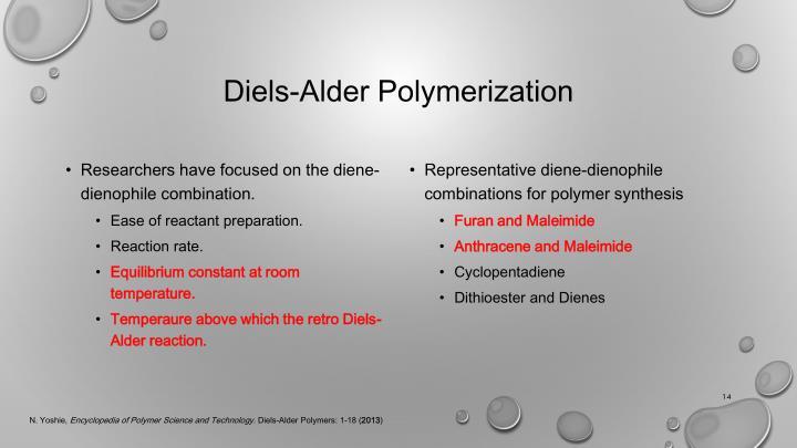 Diels-Alder Polymerization
