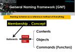 general naming framework gnf