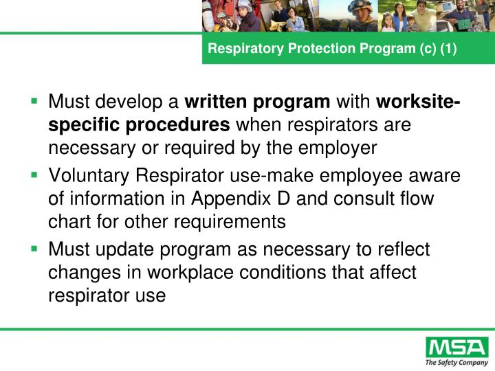 Respiratory Protection Program (c) (1)