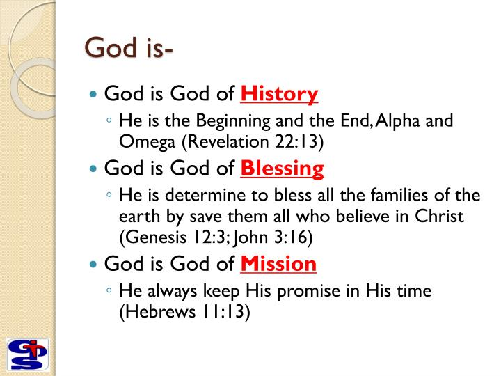 God is-