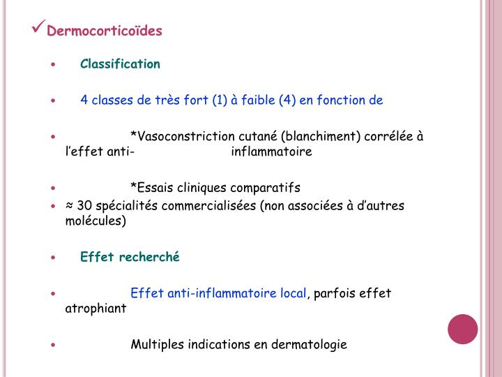 PPT - LES Anti-inflammatoires stéroïdiens PowerPoint