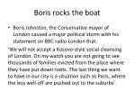 boris rocks the boat