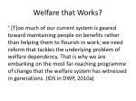 welfare that works