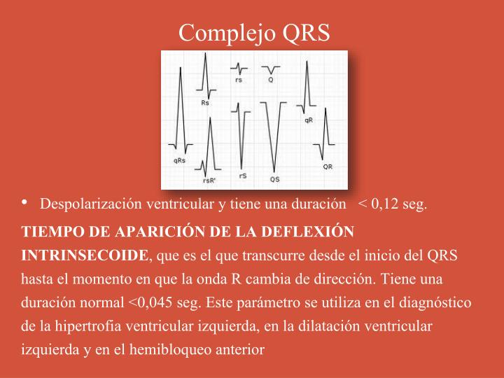 Complejo QRS