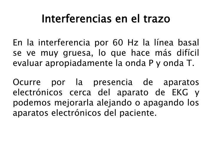 Interferencias en el