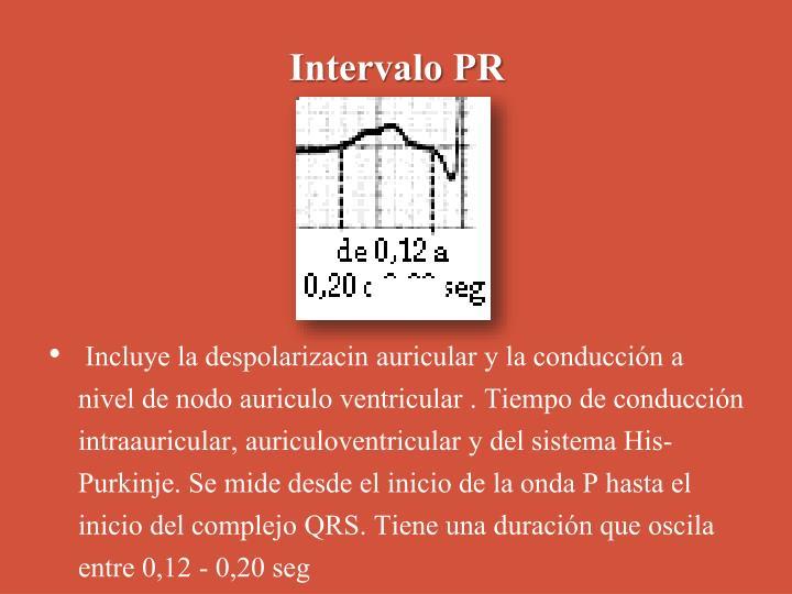 Intervalo PR