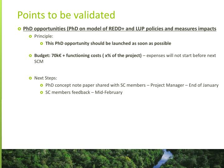 PhD opportunities (PhD on model of REDD+ and LUP policies and measures impacts