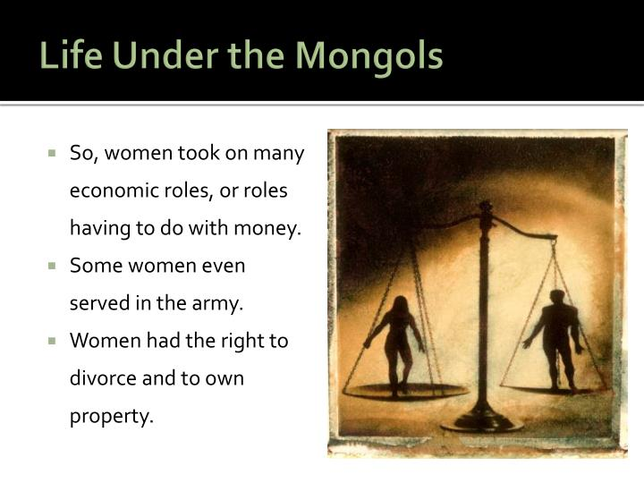 Life Under the Mongols