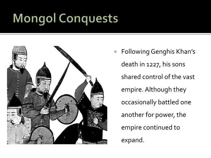 Mongol Conquests