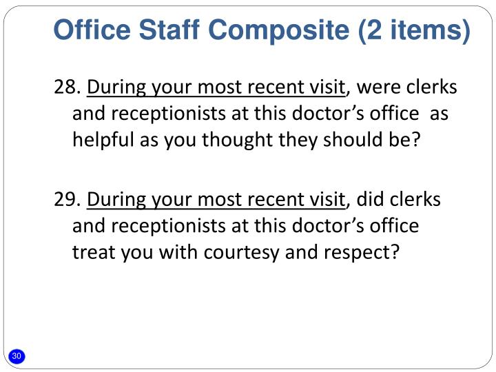 Office Staff Composite (2 items)