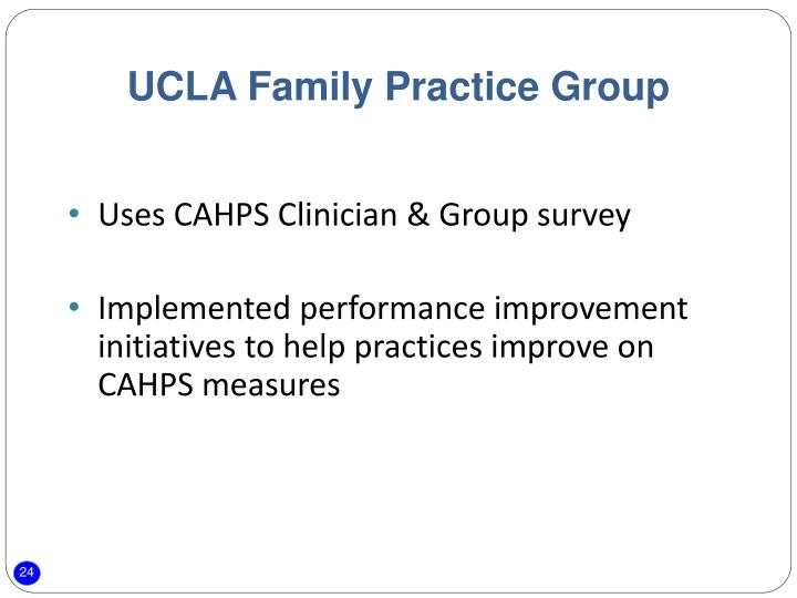 UCLA Family Practice Group