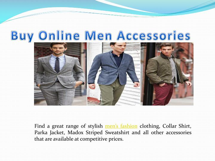 Buy Online Men Accessories
