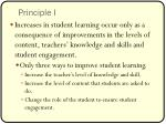 principle i
