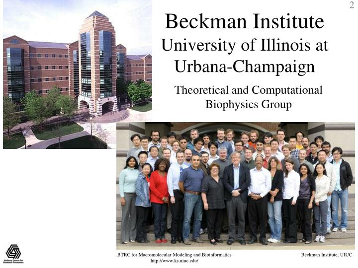 Beckman institute university of illinois at urbana champaign