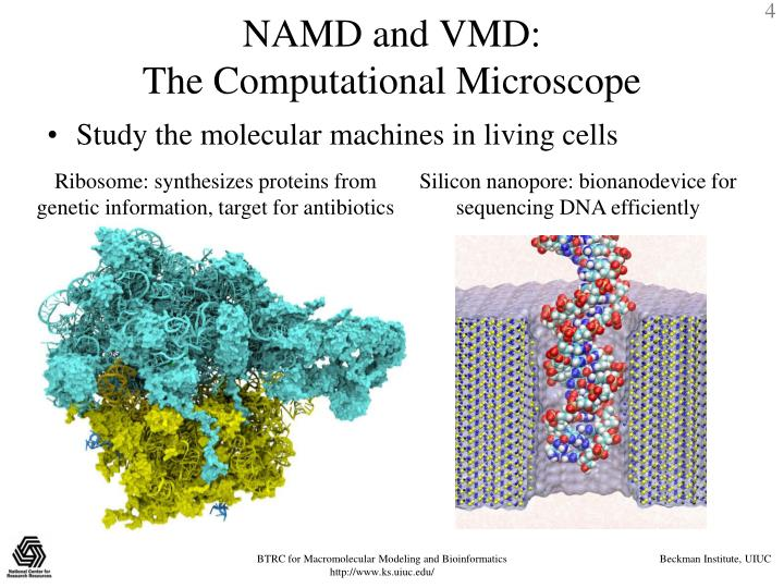 NAMD and VMD: