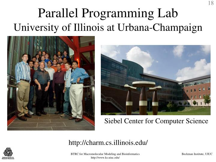 Parallel Programming Lab