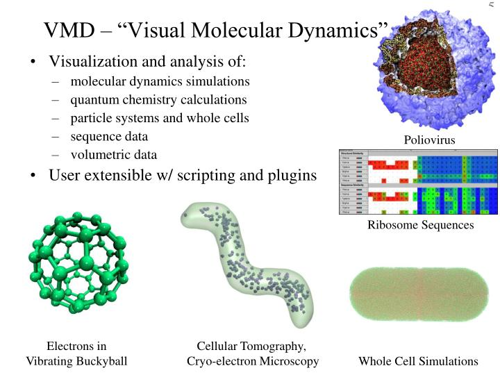 "VMD – ""Visual Molecular Dynamics"""