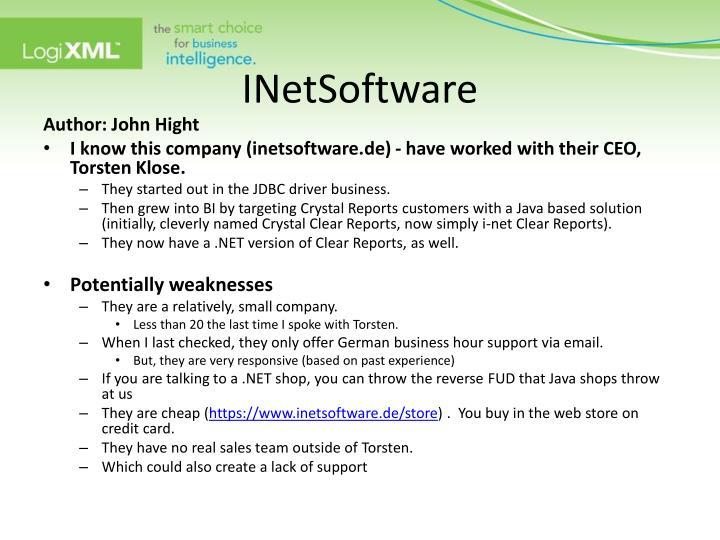 INetSoftware