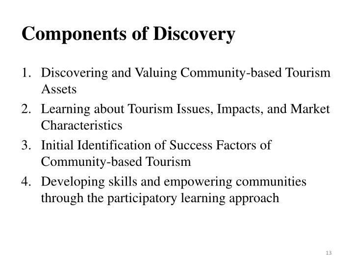 Components of Discovery