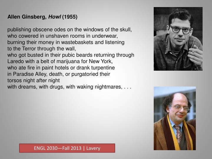 Allen Ginsberg,