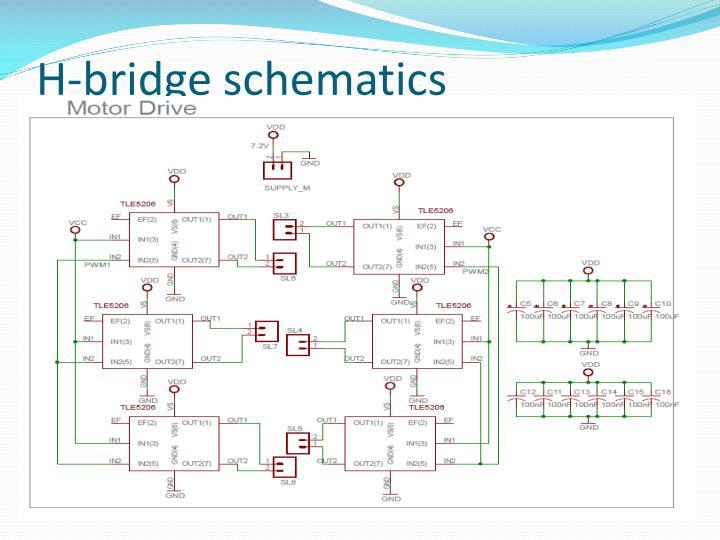 H-bridge schematics