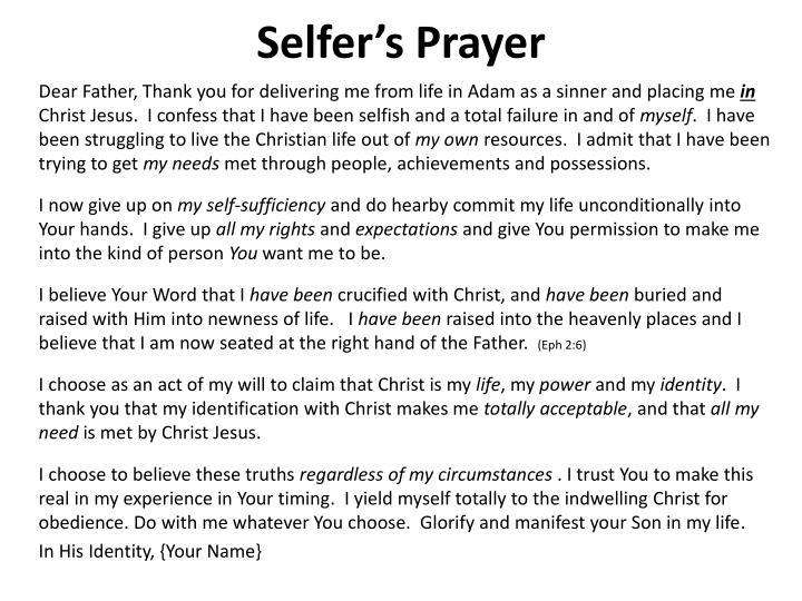 Selfer's
