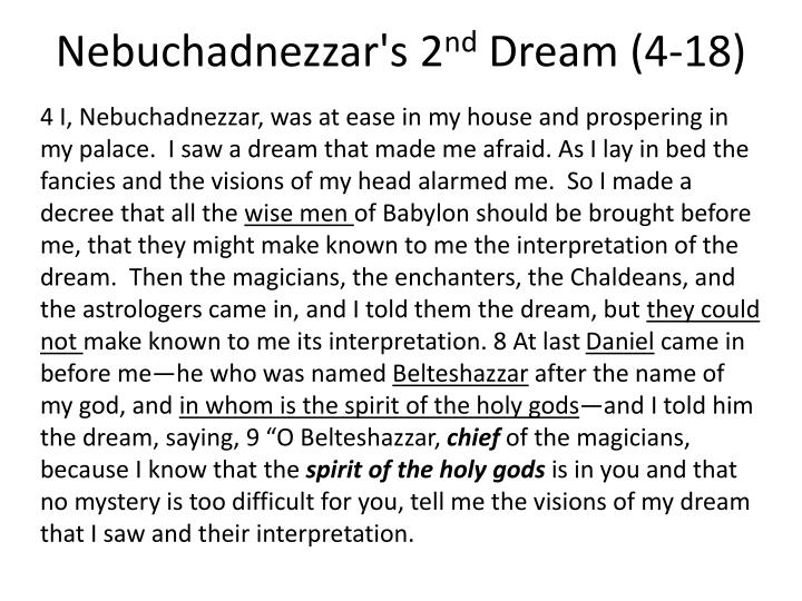 Nebuchadnezzar's 2