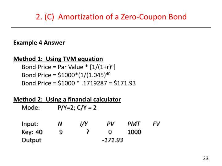Zero Coupon Bonds PPT - Modern Se...