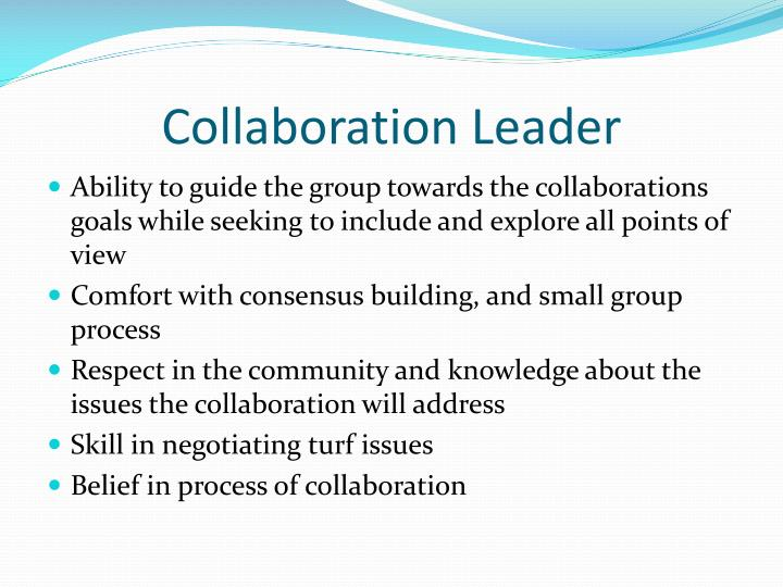Collaboration Leader
