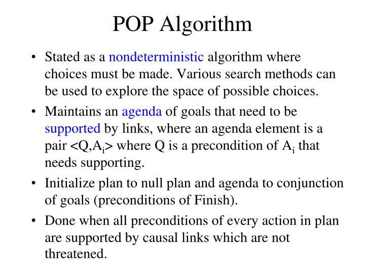 POP Algorithm