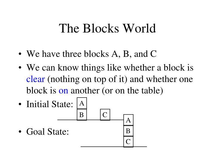 The Blocks World