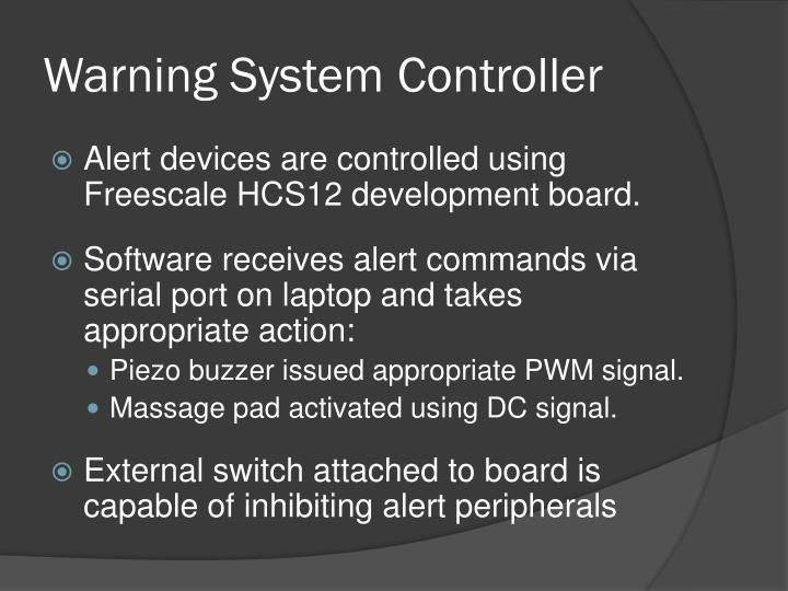Warning System Controller