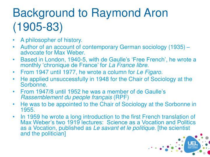 Background to Raymond