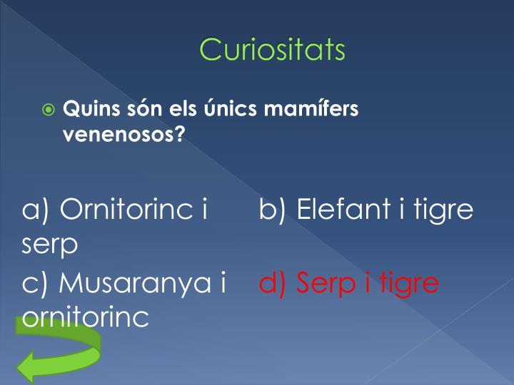 Curiositats