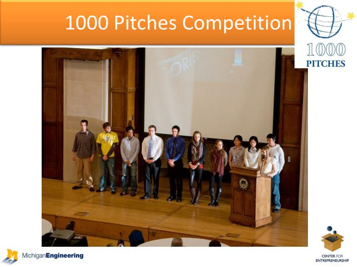 1000 Pitches Competition