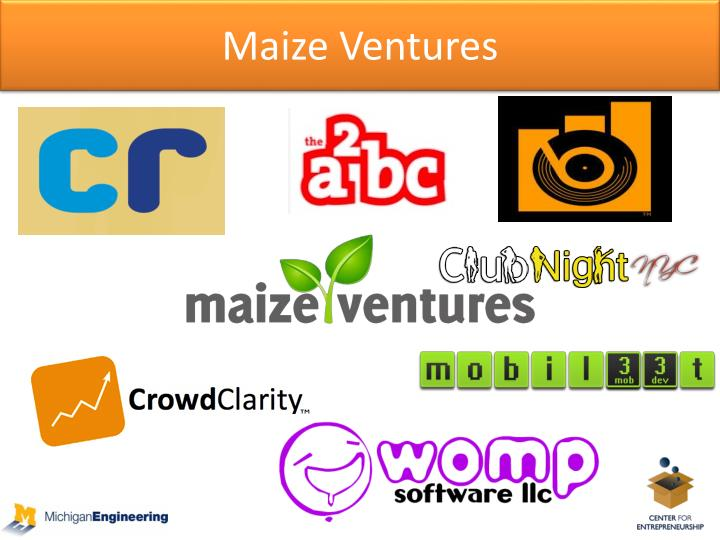 Maize Ventures