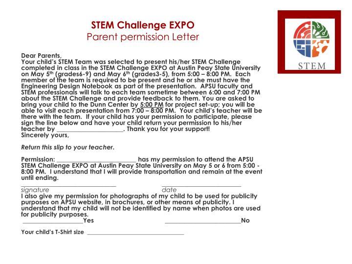 STEM Challenge EXPO