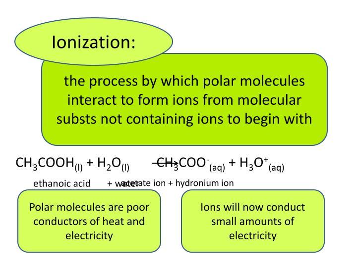Ionization: