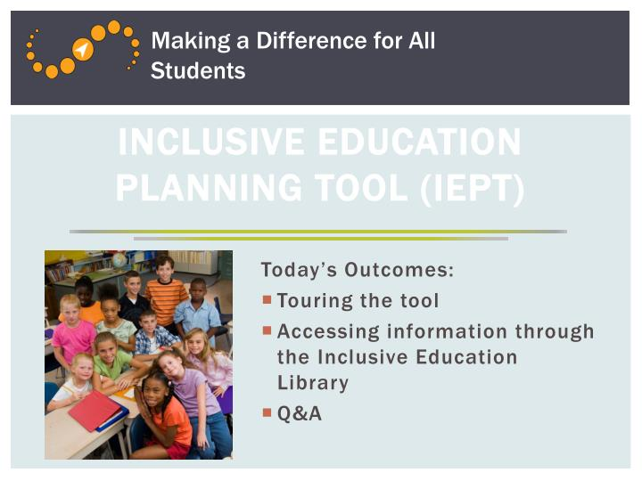 Making a Difference for All Students