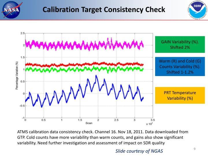 Calibration Target Consistency Check