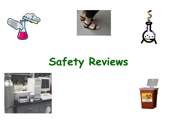 safety reviews