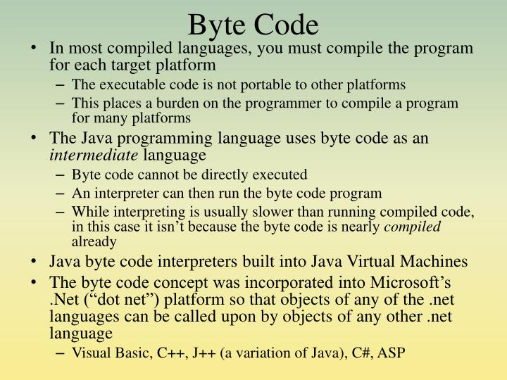 Byte Code