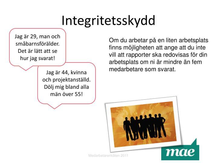 Integritetsskydd